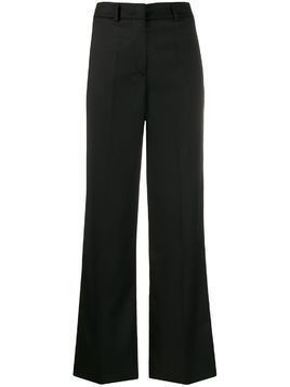 Blanca high-rise wide-leg trousers - Black