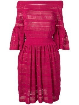 Antonino Valenti layered panel dress - Pink