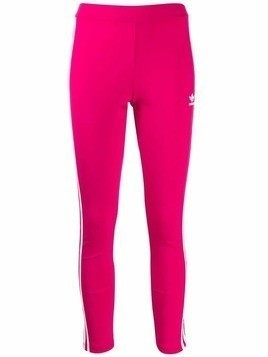 Adidas signature stripe leggings - Pink