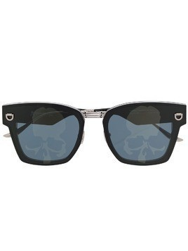 Mastermind Japan skull print sunglasses - Black