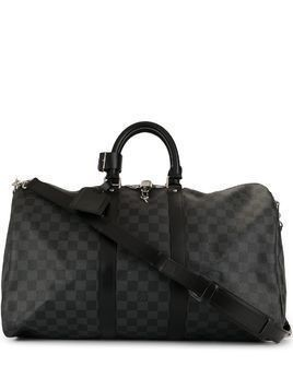 Louis Vuitton pre-owned Keepall 45 Bandouliere travel bag - Black