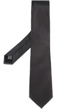 Fashion Clinic Timeless woven silk tie - Black
