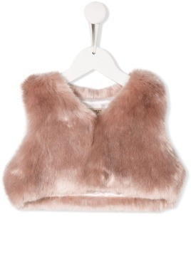 Hucklebones London faux fur shrug - Pink