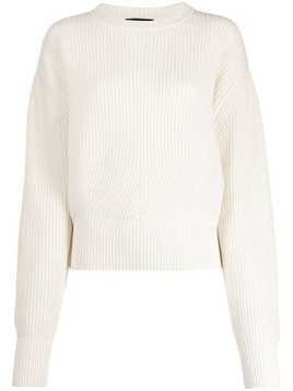Cashmere In Love oversize Ivy sweater - White