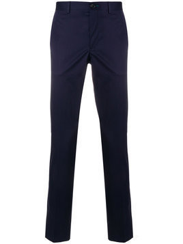 Ps By Paul Smith - slim tailored trousers - Herren - Cotton/Spandex/Elastane - 30 - Blue