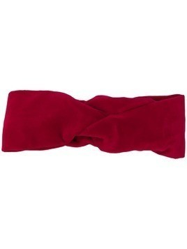 Ca&Lou knot detail headband - Red