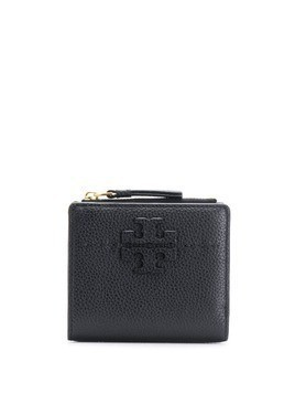 Tory Burch logo patch wallet - Black