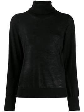 Michael Michael Kors turtleneck knitted jumper - Black