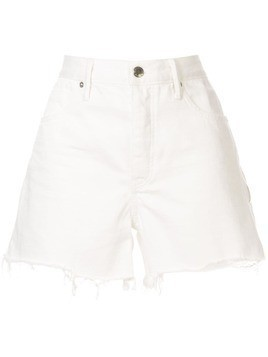 T By Alexander Wang zip detail shorts - White