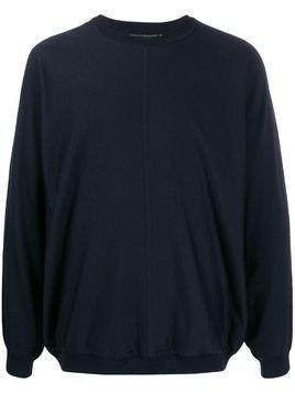 Issey Miyake Men relaxed-fit sweater - Black