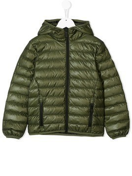 Ciesse Piumini Junior hooded padded jacket - Green