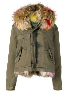 Mr & Mrs Italy hooded lined parka - Green