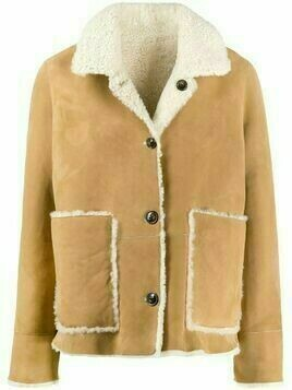 Closed reversible shearling jacket - Neutrals