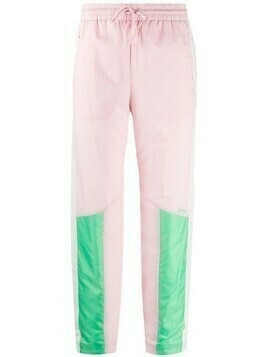 SJYP multi tone track pants - PINK