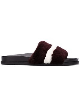 Bally textured slides - Brown