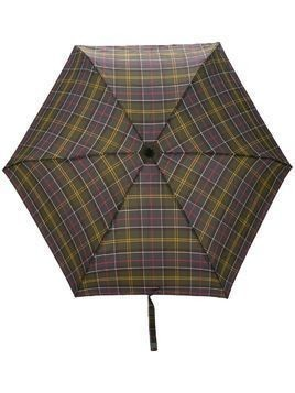 Barbour tartan handbag umbrella - Green