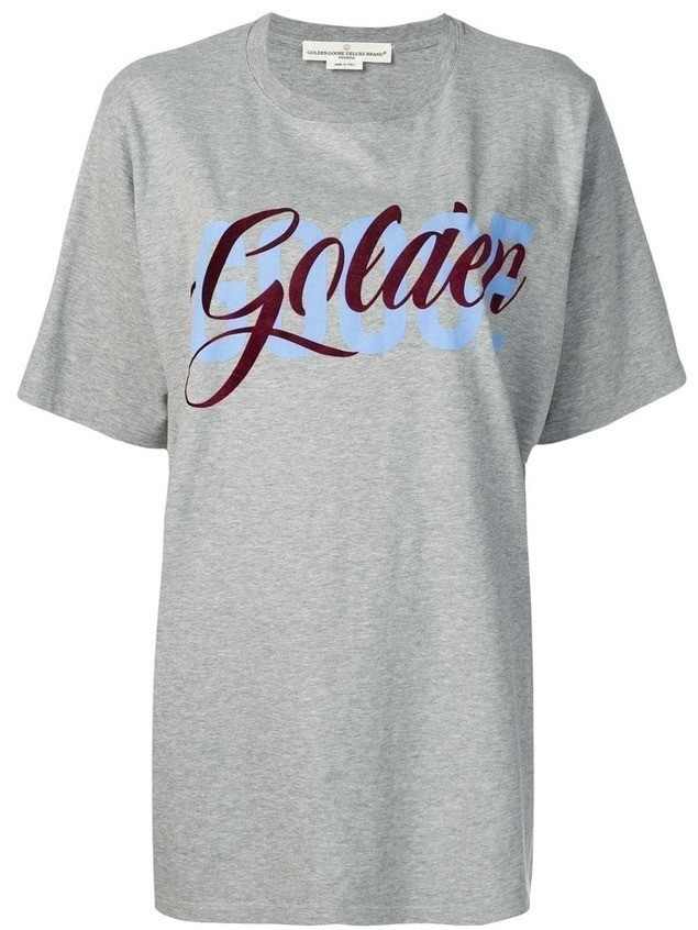 Golden Goose Golden T-shirt - Grey