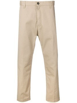 Covert cropped chinos - Neutrals