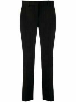 L'Autre Chose cropped tailored trousers - Black