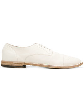 Pantanetti lace-up Derby shoes - White