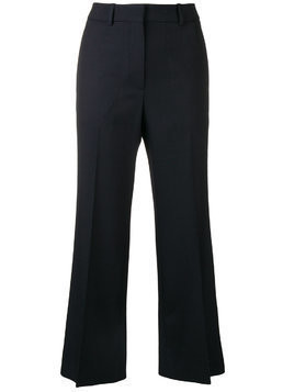Victoria Beckham cropped trousers - Blue