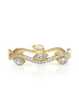 De Beers 18kt yellow gold Adonis Rose diamond band