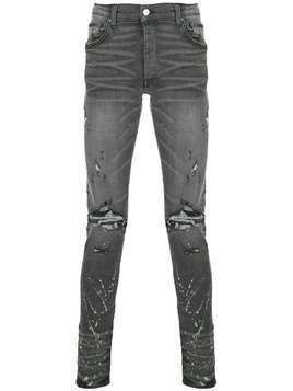 Amiri distressed skinny jeans - Grey