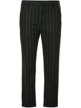 Hope pinstripe cropped trousers - Black