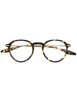 Barton Perreira round frame tortoise-shell glasses - Brown