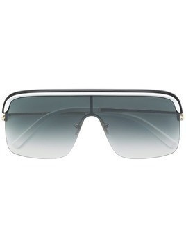 Cutler & Gross oversized aviator sunglasses - SILVER