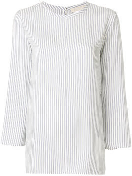 'S Max Mara striped longsleeved tunic - White