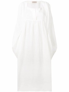 Gentry Portofino simple kaftan - White