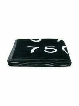 Givenchy Kids Paris logo towel - Black