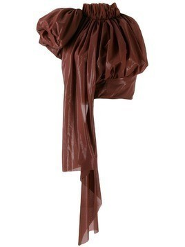 Maticevski oversized drape top - Brown