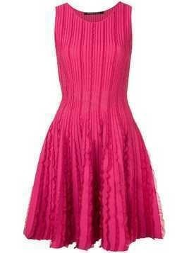 Antonino Valenti ruffle details dress - Pink