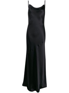 L'agence sleeveless maxi dress - Black