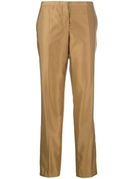 Prada Pre-Owned straight-leg trousers - Brown