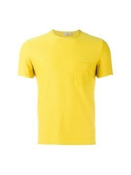 Romeo Gigli Vintage ribbed T-shirt - Yellow&Orange
