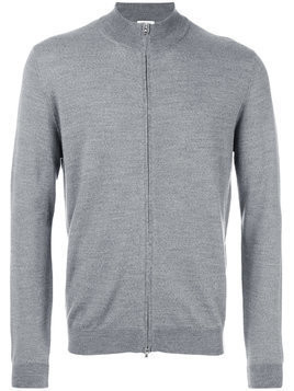Fashion Clinic Timeless zip cardigan - Grey