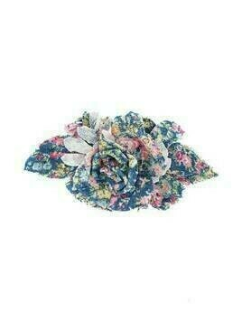 Philosophy Di Lorenzo Serafini flower appliqué brooch - Blue