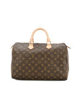 Louis Vuitton Vintage Speedy 35 luggage bag - Brown
