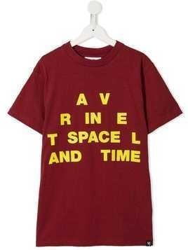 Molo TEEN script print T-shirt - Red