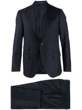 Caruso two-piece formal suit - Blue