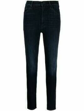 MOTHER The Super Swooner skinny jeans - Blue
