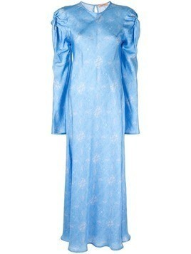 Maggie Marilyn Love Me Knot printed dress - Blue