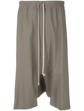 Rick Owens relaxed-fit shorts - Brown