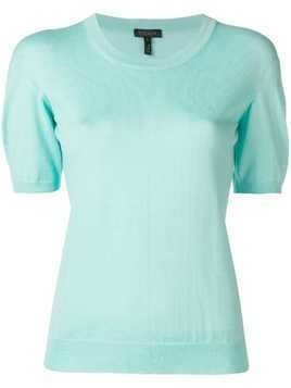 Escada short sleeve jumper - Blue