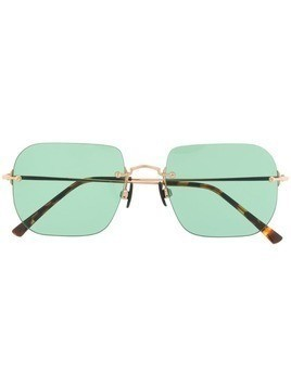 KYME square frame sunglasses - Green