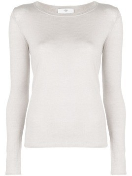 Allude long sleeved sweater - Neutrals
