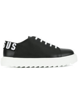 Versus - lace-up sneakers - Herren - Calf Leather/Leather/rubber - 41 - Black